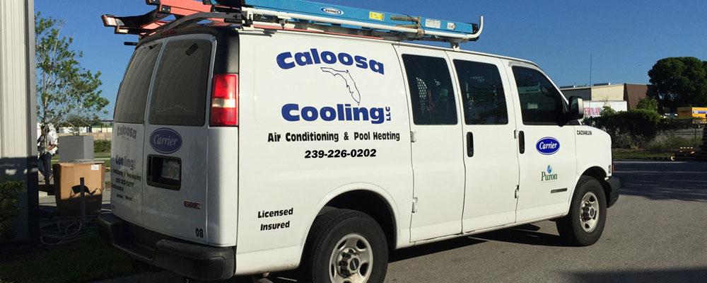 Caloosa Cooling Van
